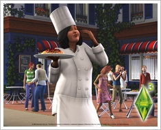 1280x1024 Sims3 Chef