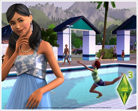 1280x1024 Sims3 Pool